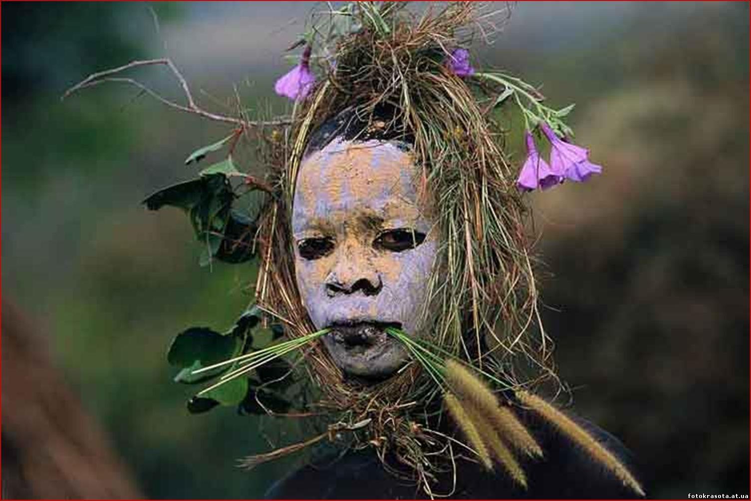 Фото девушек из диких племен 13 фотография
