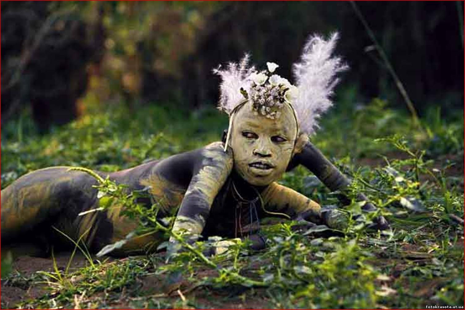 Фото дикие племена в африке 10 фотография