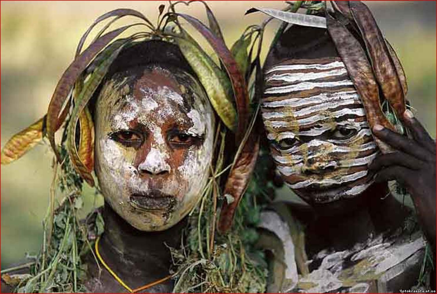 Фото дикие племена 1 фотография